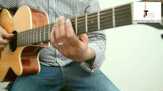 getlinkyoutube.com-Tomar Jonno nilche tara intro guitar lesson