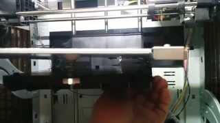 getlinkyoutube.com-Da Vinci Pro 3D Printer : Broken Bed Plastic Solved