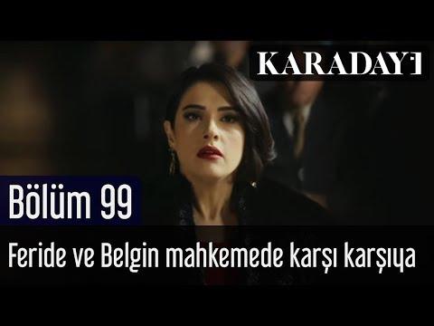 Karadayı 99.Bölüm | Feride ve Belgin mahkemede karşı karşıya