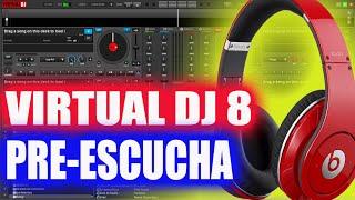 COMO CONFIGURAR VIRTUAL DJ 8 PARA PRE ESCUCHA Audifonos y Alta Voces