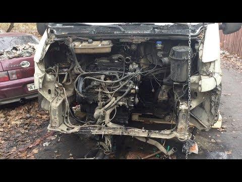 Заменил сальник коленвала со стороны КПП Peugeot Boxer. Своими руками.