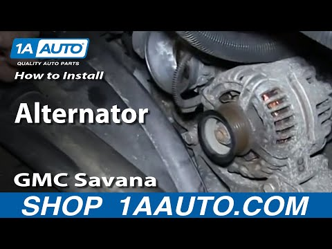 How To Replace Alternator 03-09 GMC Savana 5.3L/6.0L