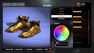 getlinkyoutube.com-NBA 2k16 How to create Golden Shoes