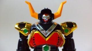 getlinkyoutube.com-Seijuu Sentai Gingaman Chogokin Bull Taurus 星獣戦隊ギンガマン 超合金 ブルタウラス
