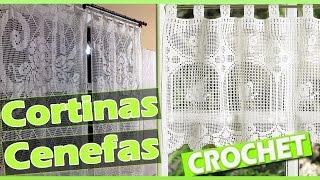 getlinkyoutube.com-Cortinas y Cenefas Con Patrones Tejidas a Crochet