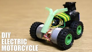 getlinkyoutube.com-How to make an electric motorcycle - DIY electric toys