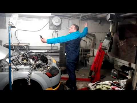 Audi TT сборка двигателя)))