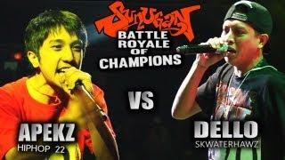 getlinkyoutube.com-SUNUGAN BATTLE ROYALE of CHAMPIONS DELLO vs APEKZ vs RIGHTEOUS ONE