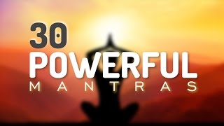 getlinkyoutube.com-30 Incredible Mantras for Health, Happiness, Healing, Positive Energy & Prosperity