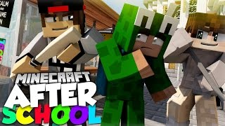 getlinkyoutube.com-Minecraft After School - LITTLE LIZARD GETS STOOD UP ON HIS DATE WITH SARAH!?