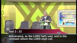 Pastor WF. Kumuyi -Restoring the fallen foundation of the Righteous-  April 2013