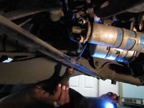 How to change fuel pump and fuel filter on Mercedes SLK230