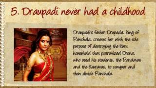 16 fascinating facts about Draupadi I bet you didn't know