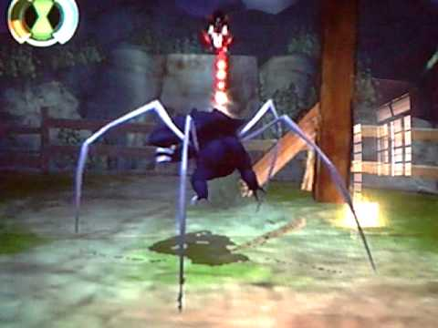 ben 10 ultimate alien ps2 (ultimate spider-Monkey)