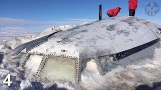 Top 10 Mysterious Things Found Frozen In Ice Antarctica