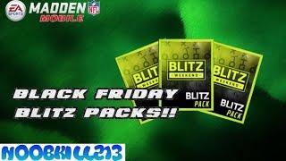 Madden Mobile 16 Black Friday Blitz Pack Opening!!