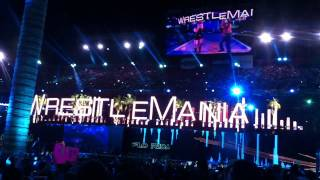John Cena vs. The Rock - WrestleMania 28 Main Event Entrances