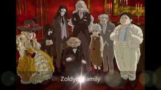 getlinkyoutube.com-Hunter X Hunter | Zoldyck Family All Members