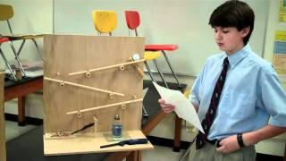 getlinkyoutube.com-Mrs. Corron's Physical Science 2011 Rube Goldberg Projects-