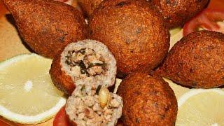 getlinkyoutube.com-كبة الدجاج المقلية Chef Ahmad AllCooking/Chicken Fried Kibbeh