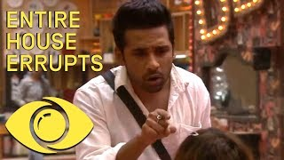 The Most Outrageous Fight In Bigg Boss 11 - The Whole House Is Involved! - Big Brother Universe