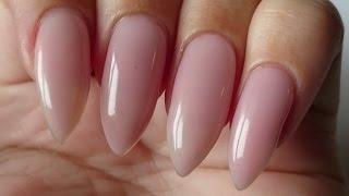 getlinkyoutube.com-How to make a Pink Gel Overlay | Nailsofnorway