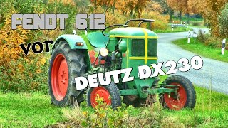 getlinkyoutube.com-Jesendorf 2016 Teil 2 ►Fendt 612 vor Deutz DX 230◄ Incredible Oldtimer