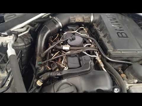 Китайская клапанная крышка на BMW мотор N55 №2