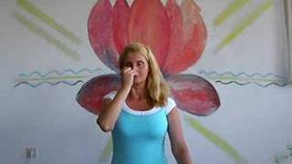 getlinkyoutube.com-Anuloma Viloma - Yoga breathing exercice (Pranayama)