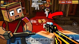How To USE GUNS in Knife Party (GLITCH) Pixel Gun 3D 11.4.0/11.4.1