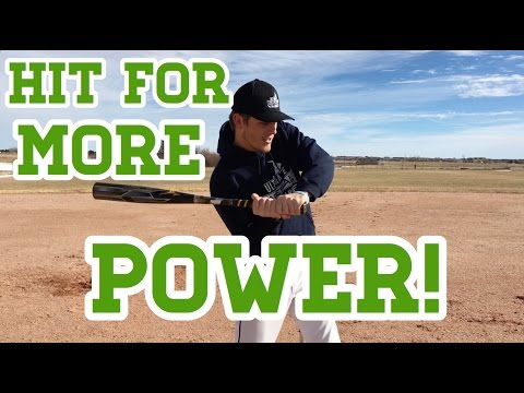 3 Simple Baseball Hitting Tips to Hit For More POWER!