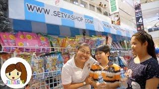 getlinkyoutube.com-เยี่ยมบูทร้าน Seiyashop แวะทักทาย Papapha    จาน่าน้อย