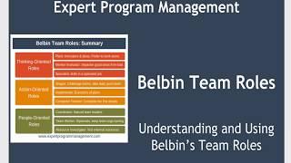 Belbin's Team Roles