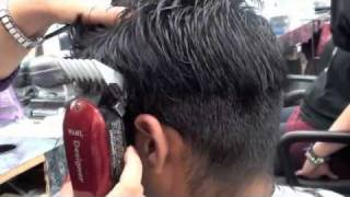 getlinkyoutube.com-CLIPPER HAIRCUT AND BLENDING for an undecided client