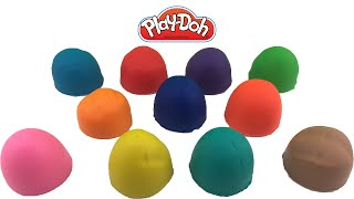Play Doh Eggs - 11 Surprise Toys - Peppa Pig - Kinder Surprise - Hello Kitty - Yoshi - Minions