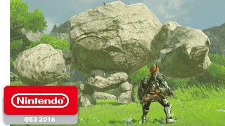 The Legend of Zelda: Breath of the Wild - Official Game Trailer - Nintendo E3 2016 width=