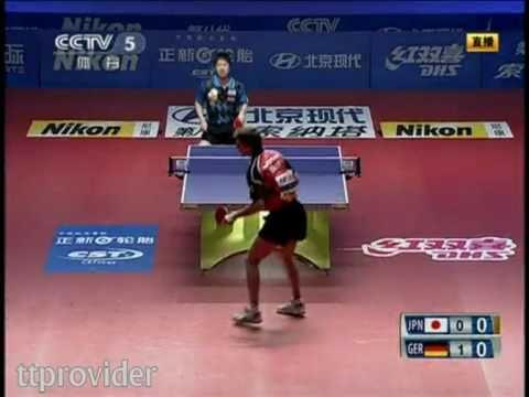Asia vs. Europe 2011: Jun Mizutani-Timo Boll