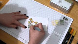 Traci Cornelius's Stampin Up UK technique Class - February - Blessed Easter