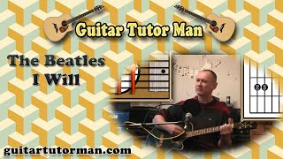 getlinkyoutube.com-I Will - The Beatles - Acoustic Guitar Lesson