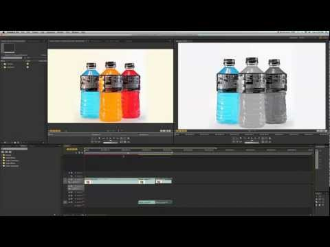 Pleasantville Effect Tutorial - Adobe Premiere ( Sin City Effect )