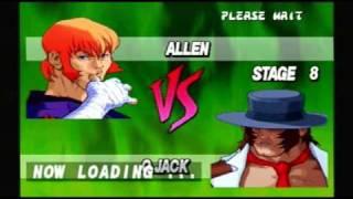Street Fighter EX Plus Alpha - Allen Playthrough