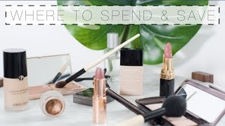 Makeup: Where To Spend & Where To Save | The Anna Edit