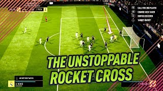 FIFA 18 THE ROCKET CROSS - NEW UNSTOPPABLE CORNER KICK TUTORIAL - DEADLY FUT CHAMPIONS TRICK width=