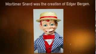 getlinkyoutube.com-Mortimer Snerd Celebrity Ventriloquist Doll