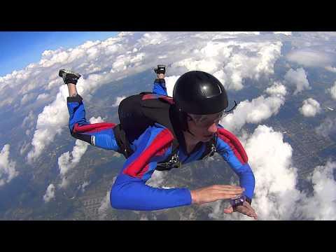 Skydiving Mantis Turns