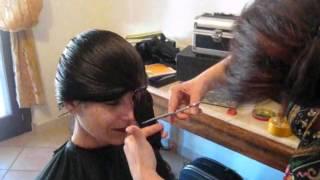 getlinkyoutube.com-Taglio capelli, fai da te, con elastico