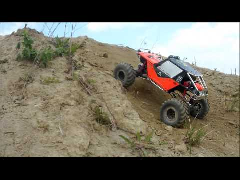Axial Wraith Custom 2014 006 brushless Power test trip 2S Lipo