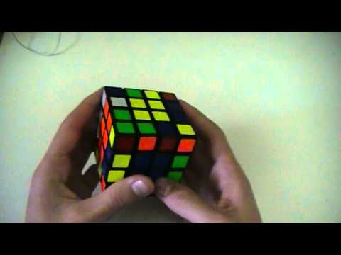 4x4 cube example solves