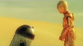 getlinkyoutube.com-Star Wars: 'Just The Two Of Us' C3P0 & R2D2 Music Video