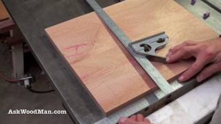 getlinkyoutube.com-Table Saw Tip #4: How To Check Squareness - Woodworking DIY